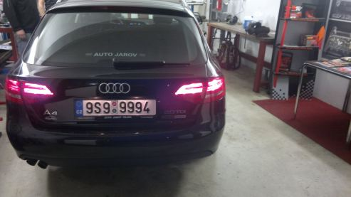 Audi A4 2.0TDI CR - Powered by Sportmotor