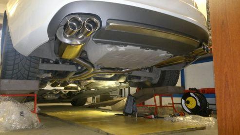 Audi S5 - Powered by Sportmotor - chiptuning, Milltek resonated sportovní výfuk