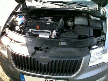 Superb 1.4 TSI Powered by Sportmotor - chiptuning na 118 kW, sportovní filtr K&N
