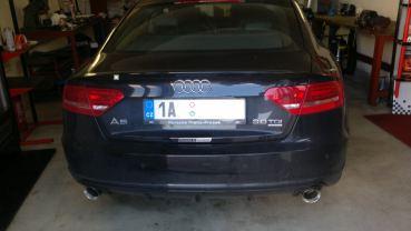 Audi A5 Sportback 3.0TDI Powered by Sportmotor - chiptuning, sportovní výfuk Milltek