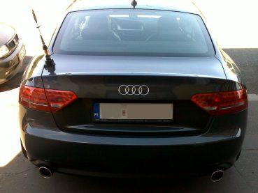 Audi A5 3.0 TDI Powered by Sportmotor - chiptuning, sportovní výfuk Millteksport, zadní světla LED, zákazník až z Polska
