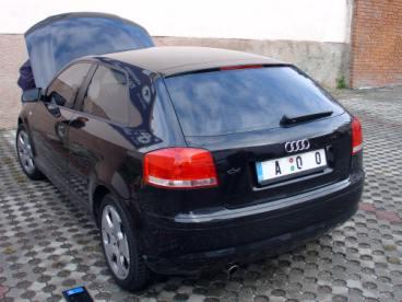 Audi A3 8P, filtr K&N
