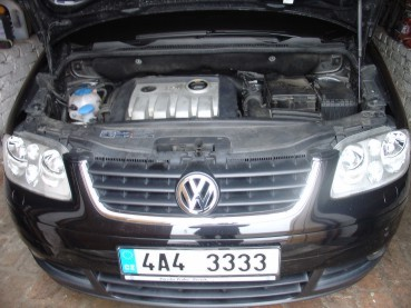 VW Touran 1.9TDI DSG Powered by Sportmotor - chiptuning na 110kW