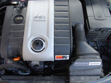 Octavia2 RS 2.0TFSI Powered by Sportmotor - chiptuning, sportovní filtr K&N