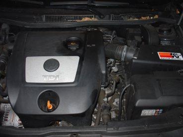 VW Golf IV 1.9TDI 96kW Powered by Sportmotor- chiptuning, sportovní filtr K&N