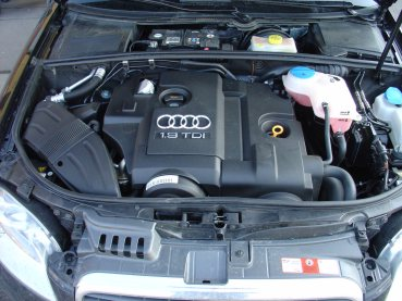 Audi A4 1,9TDI 85 kW Powered by Sportmotor - chiptuning na 118 kW, sportovní filtr K&N