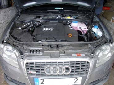 Audi A4 2.0TDI Quattro Powered by Sportmotor - chiptuning na 132 kW, sportovní filtr K&N