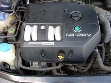 Octavia 1.8 20V Powered by Sportmotor - chiptuning na 100kW, sportovní filtr K&N