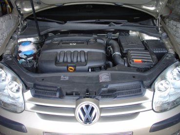 VW Golf V 1.6 Powered by Sportmotor, chiptuning, filtr K&N