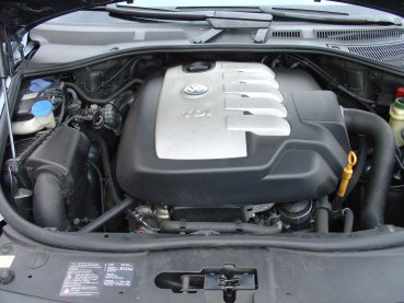 VW Touareg TDI Powered by Sportmotor - chiptuning, sportovní filtr K&N