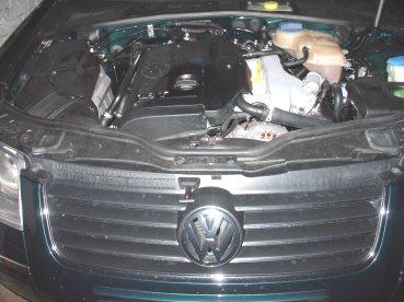 VW Passat 1.8T Powered by Sportmotor - chiptuning na 140 kW, sportovní filtr K&N