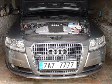 Audi A6 Allroad 3.0 TDI Powered by Sportmotor - chiptuning (206 kW), sportovní filtr K&N