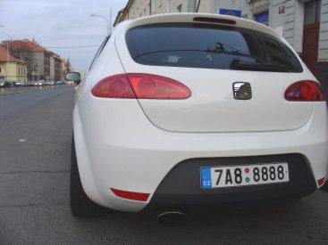 Seat Leon Cupra 2.0TFSI Powered by Sportmotor - Milltek Exhaust - výfukový systém kompletní včetně katalyzátoru