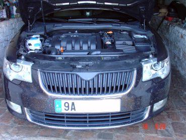 Superb 2.0 TDI Powered by Sportmotor - chiptuning na 132 kW, sportovní filtr K&N