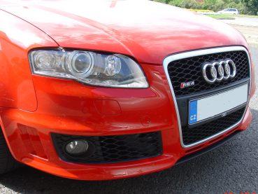 Audi RS4 Powered by Sportmotor - sportovní výfuk Milltek Sport bez rezonátorů s podtlakem ovládanými klapkami v koncových dílech