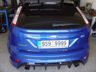 Ford Focus RS Powered by Sportmotor - chiptuning, filtr K&N
