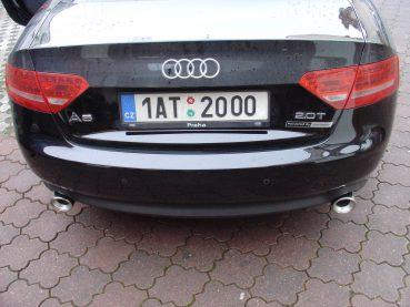 Audi A5 2.0TFSI Powered by Sportmotor - chiptuning, K&N filtr, Simons sportovní výfuk