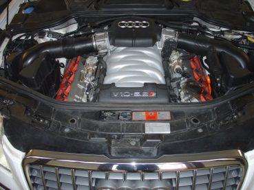 Audi S8 5.2FSI V10 Powered by Sportmotor - sportovní výfuk Milltek