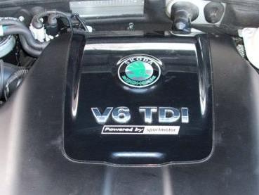 motor 2.5TDI V6 Powered by Sportmotor