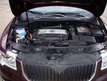 Superb 1.8 TSI Powered by Sportmotor - chiptuning na 154 kW, sportovní filtr K&N