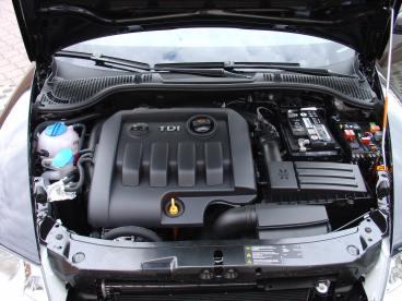 Octavia II TDI Powered by Sportmotor, chiptuning, filtr K&N