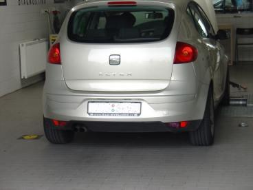 Seat Altea TDI Powered by Sportmotor, chiptuning, filtr K&N