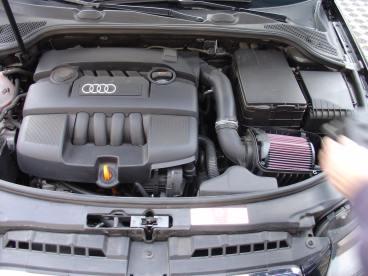 Audi A3 1.6 Powered by Sportmotor - chiptuning, sportovní filtr K&N