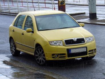 Fabia RS Powered by Sportmotor-chiptuning, filtr K&N, přední brzdy Ferodo DS Performance