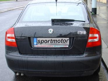 Octavia 2.0 TDI Powered by Sportmotor - chiptuning na 132 kW