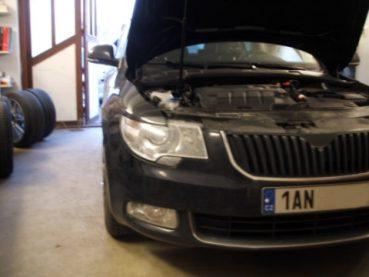 Superb Combi 2.0 TDI CR 125 kW Powered by Sportmotor - chiptuning EDC17 na 147 kW, sportovní filtr K&N