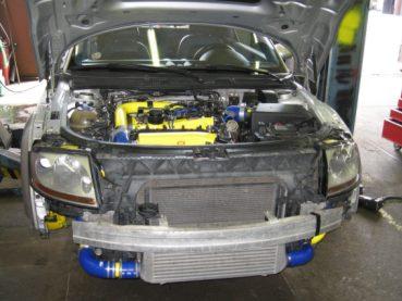 Audi TT Quattro Powered by Sportmotor - chiptuning, intercooler, výfuk Milltek