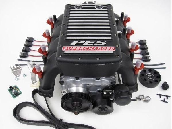 G4 Audi Supercharger Kit