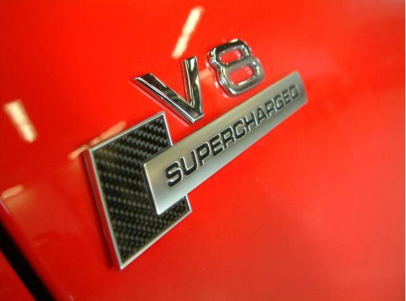 Audi supercharger kit emblem
