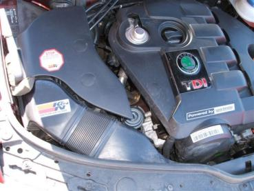 Superb 1.9 TDI Powered by Sportmotor-chiptuning, filtr K&N